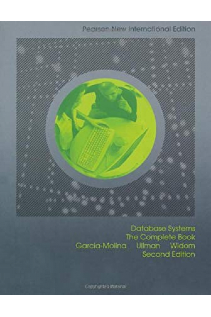 PNE database systems the complete book 2nd (molina, ullman, widom)