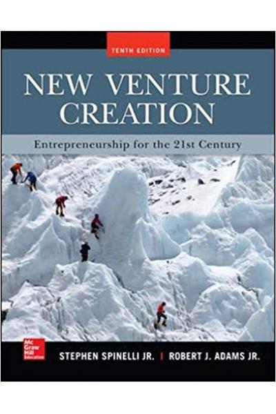 new venture creation 10th (spinelli, adams)
