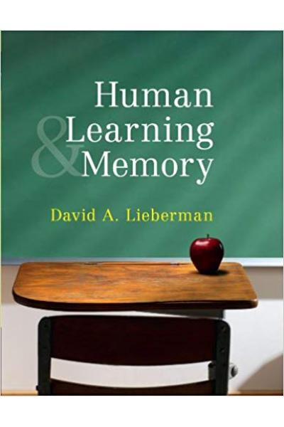 human and memory (david lieberman)