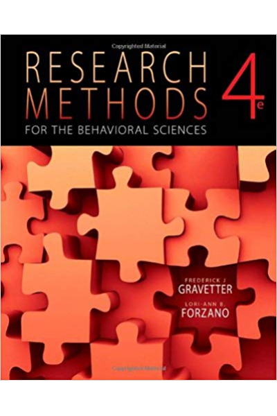 research methods for the behavioral sciences 4th (gravetter, forzano)