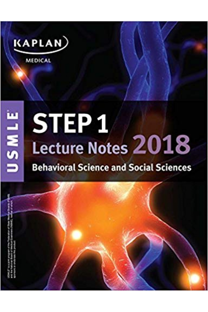 USMLE Step 1 Lecture Notes 2018 behavioral science and social sciences