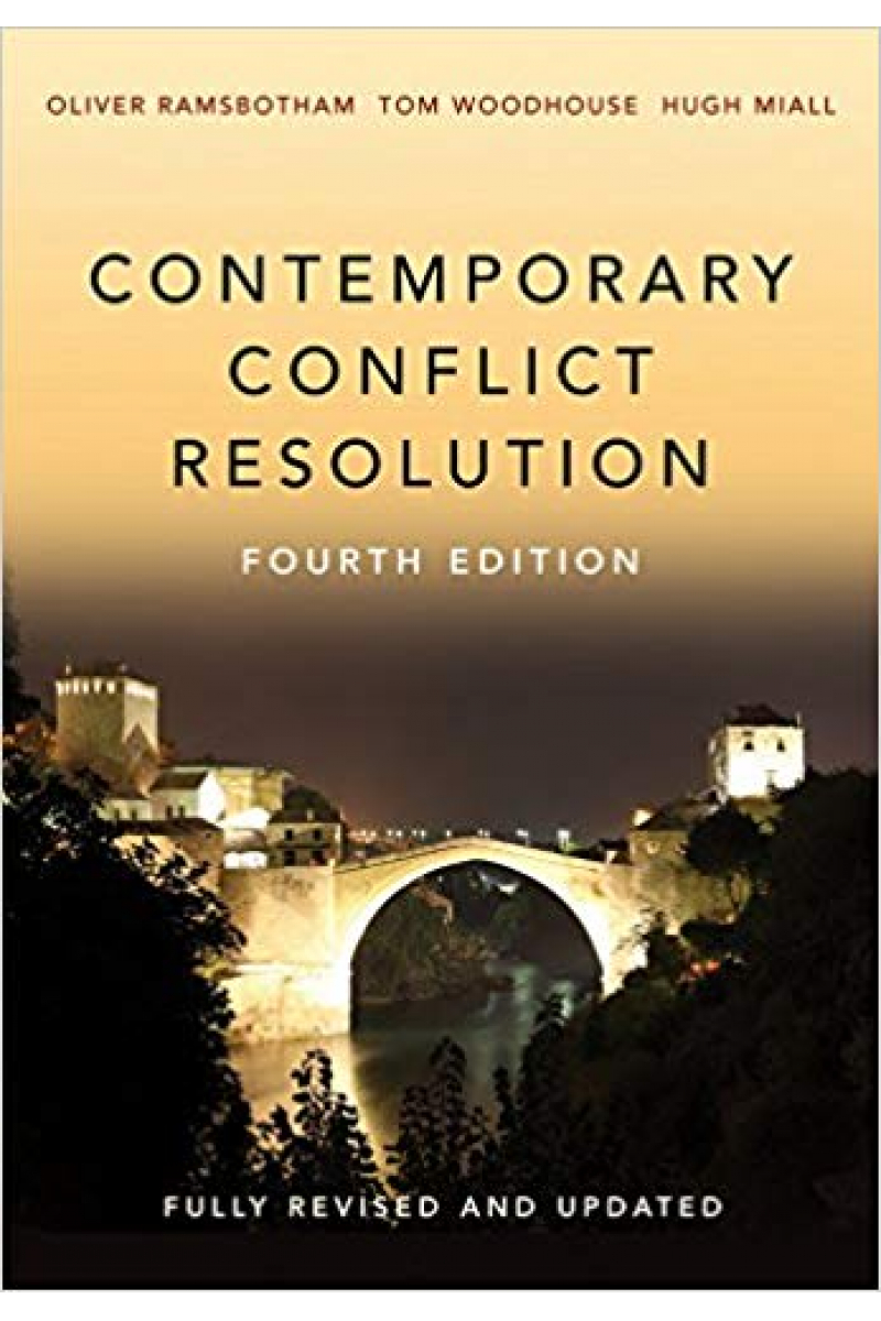 contemporary conflict resolution 4th (ramsbotham, woodhouse, miall)