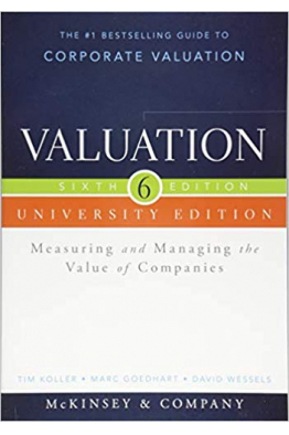 Bookstore valuation measuring and managing the value companies 6th with workbook