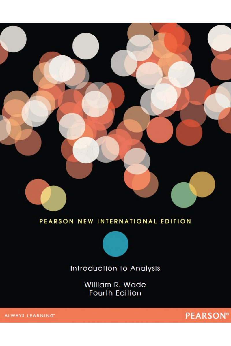 introduction to analysis 4th (william wade) PNIE