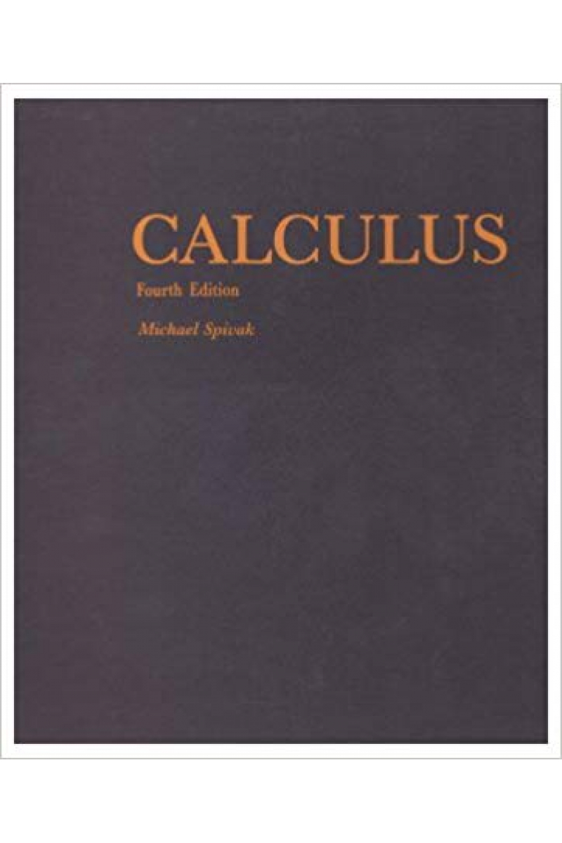calculus 4th (michael spivak)