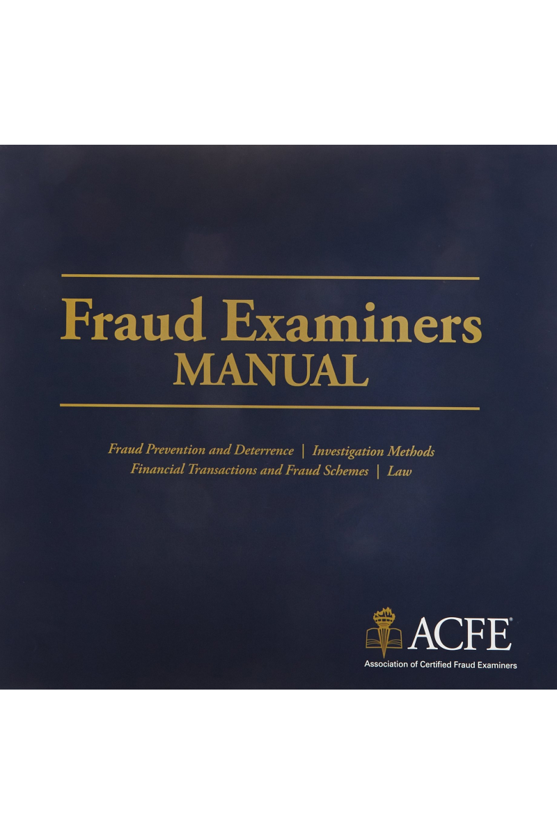 fraud examiners manual 2019 U.S. edition VOLUME 1-2 SECTION 1-2-3-4