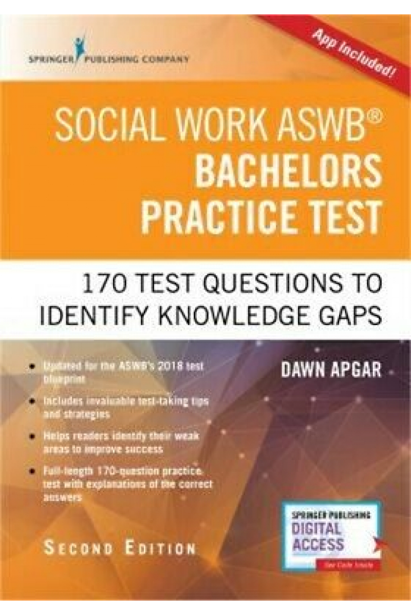 social work ASWB bachelors practice test 2nd second (dawn apgar)