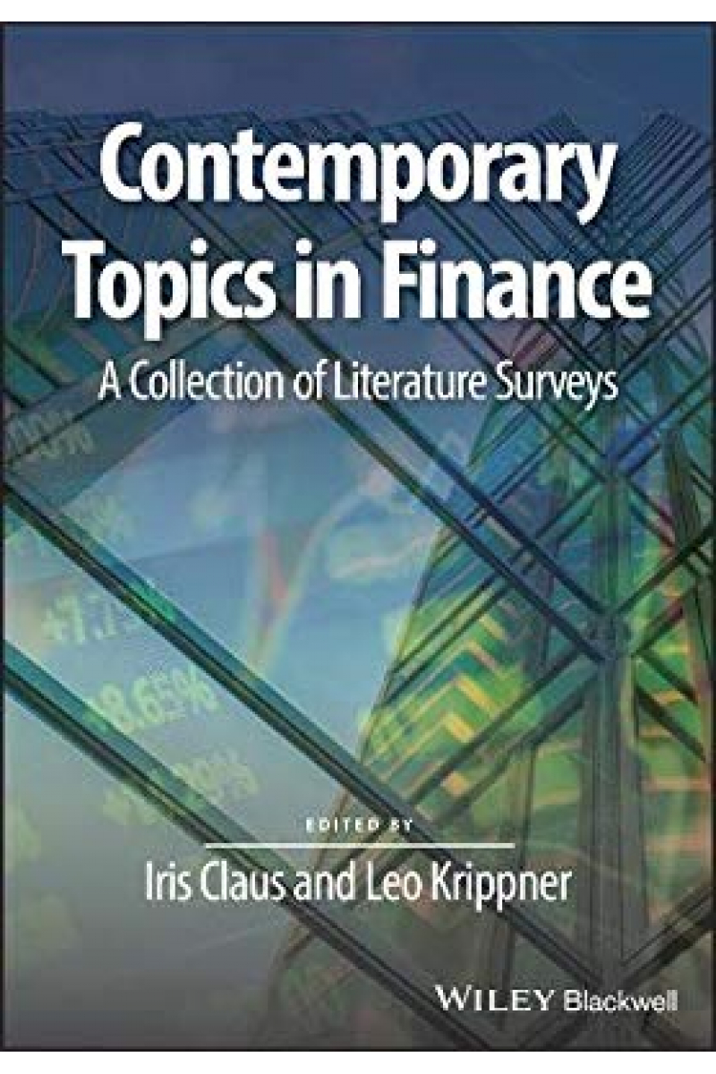 contemporary topics in finance (iris claus, leo krippner)