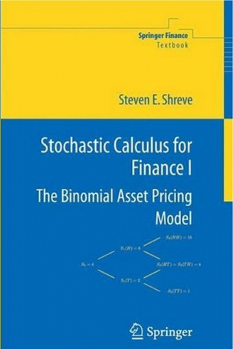 steven shreve stochastic calculus and finance (chalasani, jha) 2005
