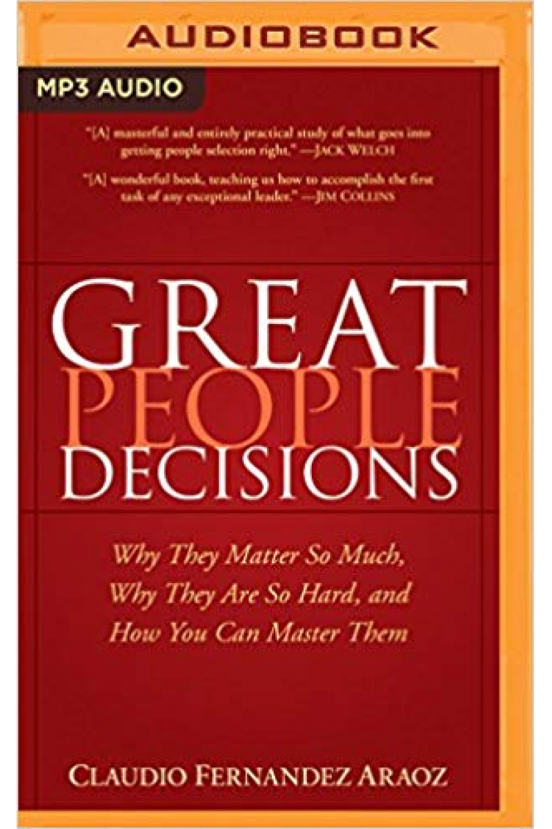 great people decisions 2007 (claudio fernandez araoz)