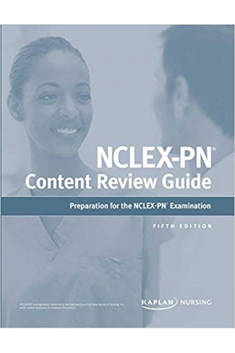 NCLEX-PN content review guide 5th 2017 KAPLAN NURSING