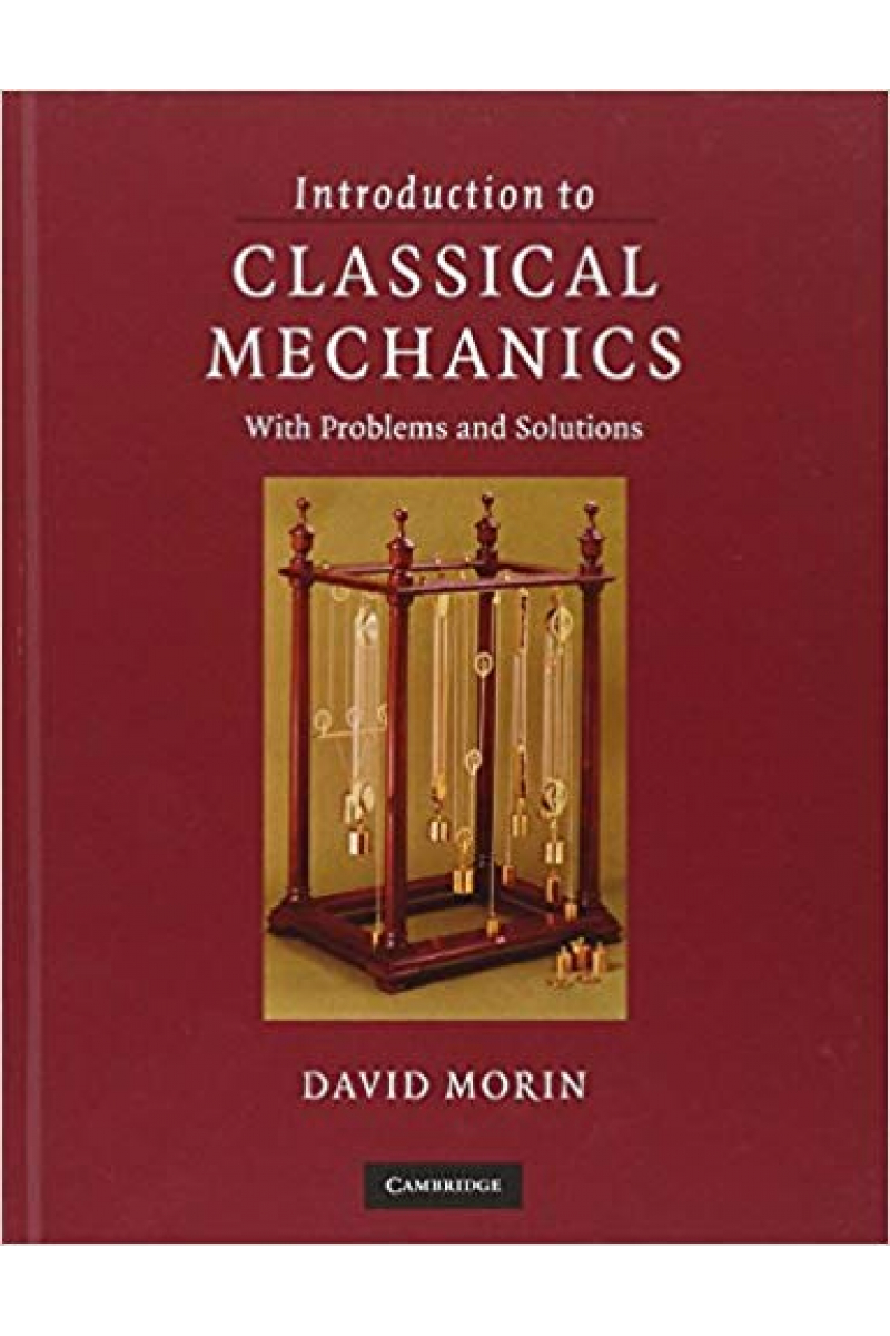 introduction to classical mechanics (david morin) 2008