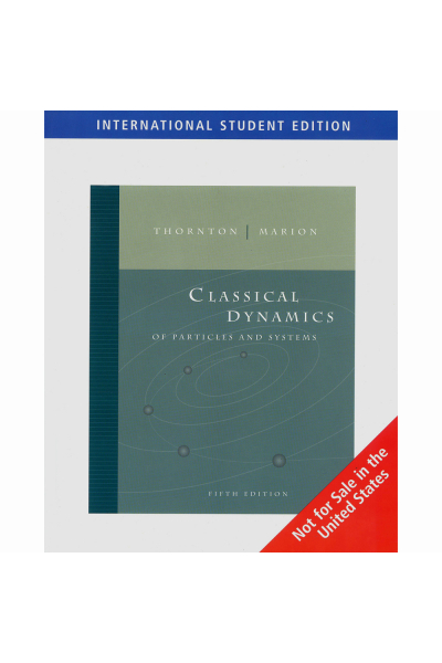 classical dynamics of particles and systems 5th (thornton, marion)