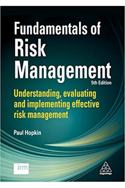 fundamentals of risk management 5th fifth (paul hopkin) 2018