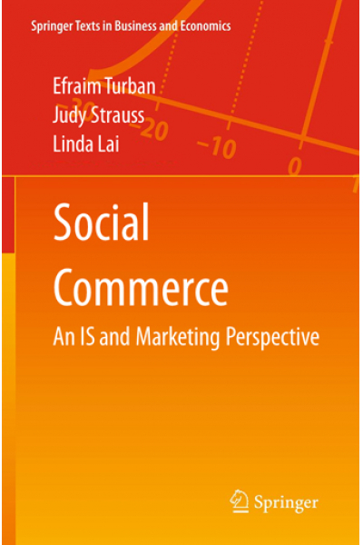 social commerce (turban, strauss, lai) 2016