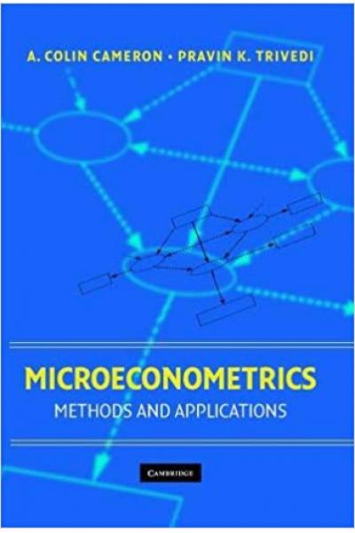 microeconometrics methods and applications (colin cameron, pravin trivedi)