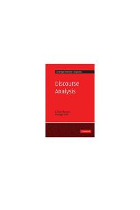 discourse analysis (gillian brown, george yule) 1983