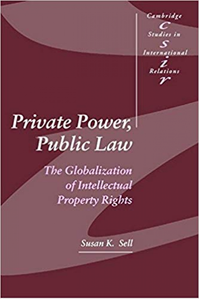 private power public law (susan sell) 2003