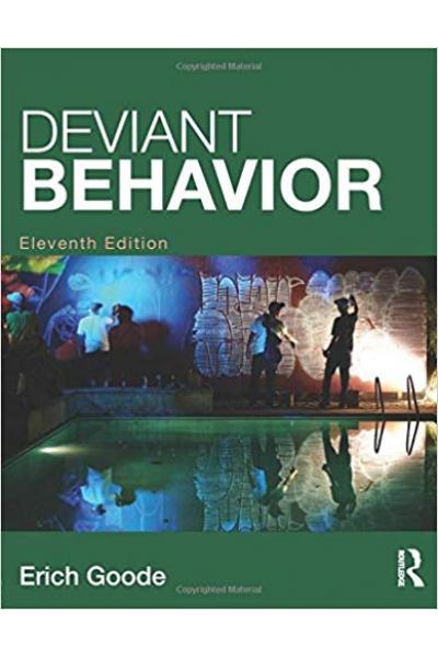 deviant behavior 11th eleventh (erich goode)