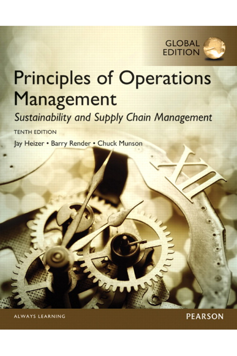 principles of operations management 10th (heizer, render, munson)
