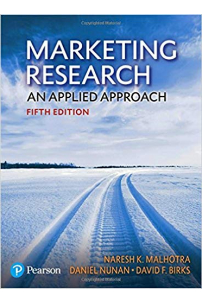 Marketing Research an Applied Approach 5th (Malhotra) Marketing Research an Applied Approach 5th (Malhotra)