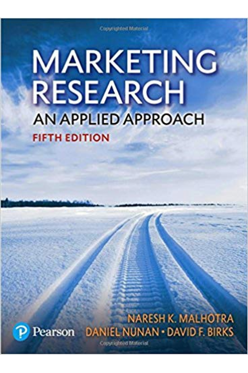 Marketing Research an Applied Approach 5th (Malhotra)