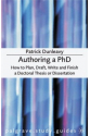 authoring a phd (patrick dunleavy)