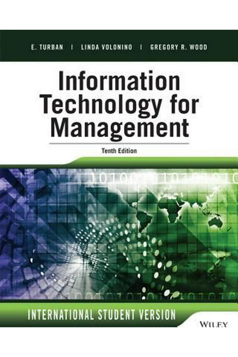 information technology for management 10th (efraim turban)