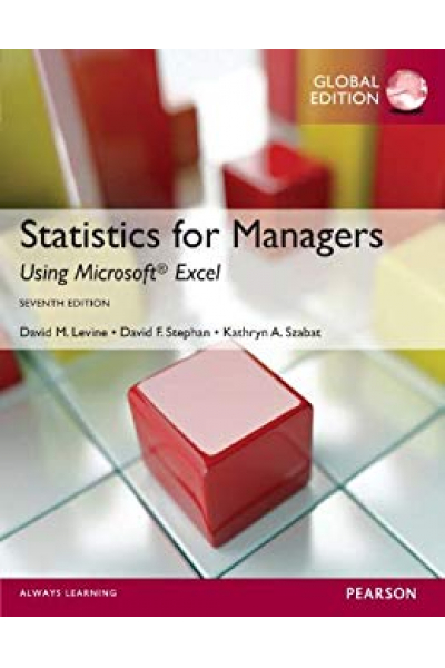 Statistics for Managers Using Microsoft Excel 7th (Levine, Stephan) Statistics for Managers Using Microsoft Excel 7th (Levine, Stephan)