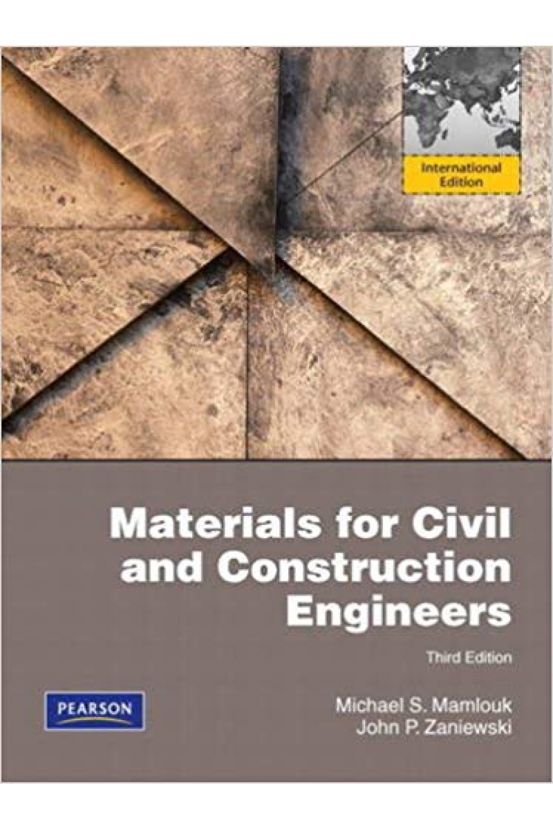 materials for civil and construction engineers 4th (michael s. Mamlouk)