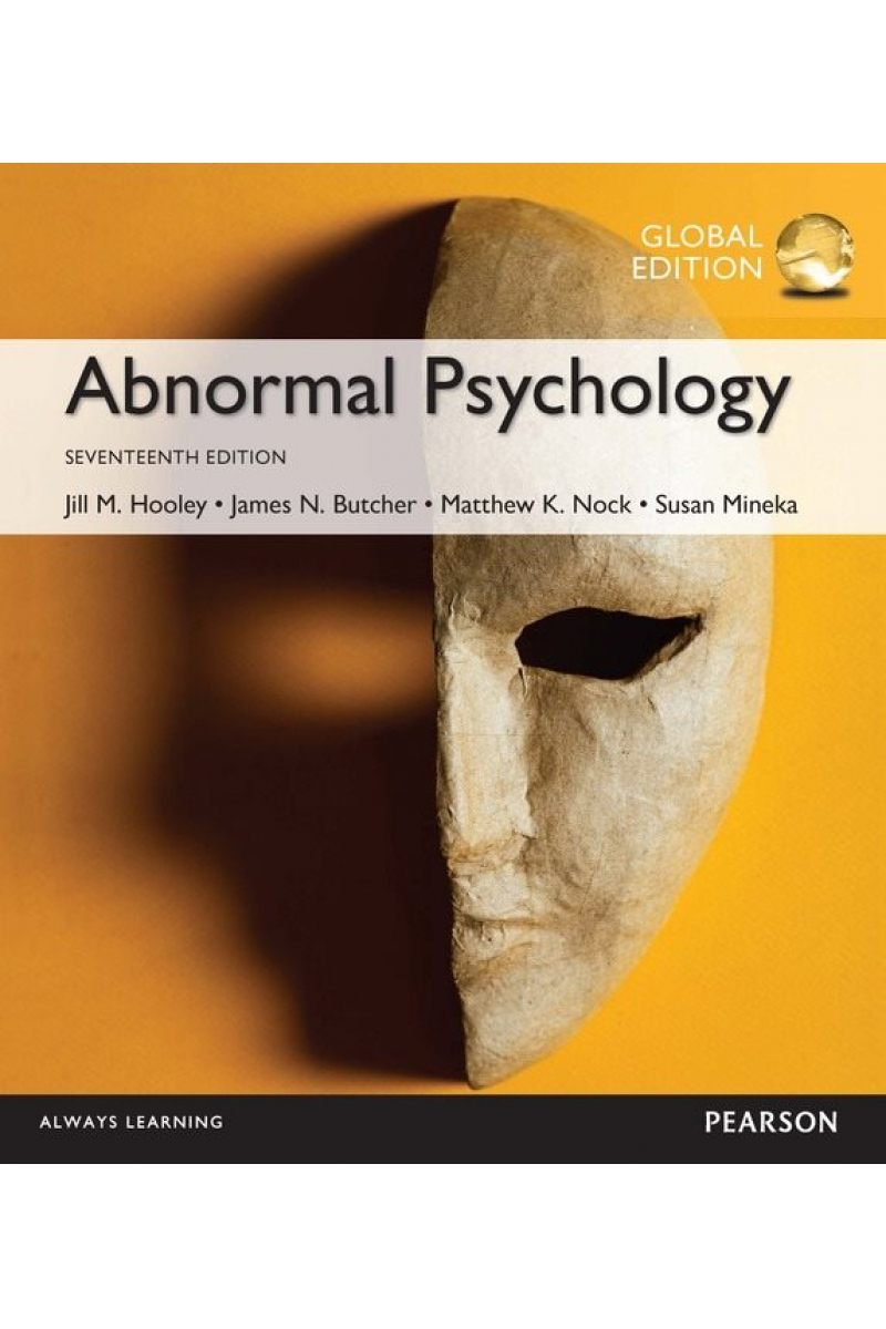 abnormal psychology 17th (hooley, butcher, nock, mineka)