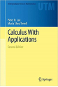 calculus with applications 2nd (lax, terrell)