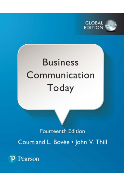 Business Communication Today 14th (Bovee) Business Communication Today 14th (Bovee)