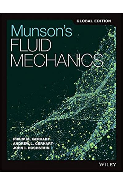munson's fluid mechanics (gerhart, gerhart, hochstein)