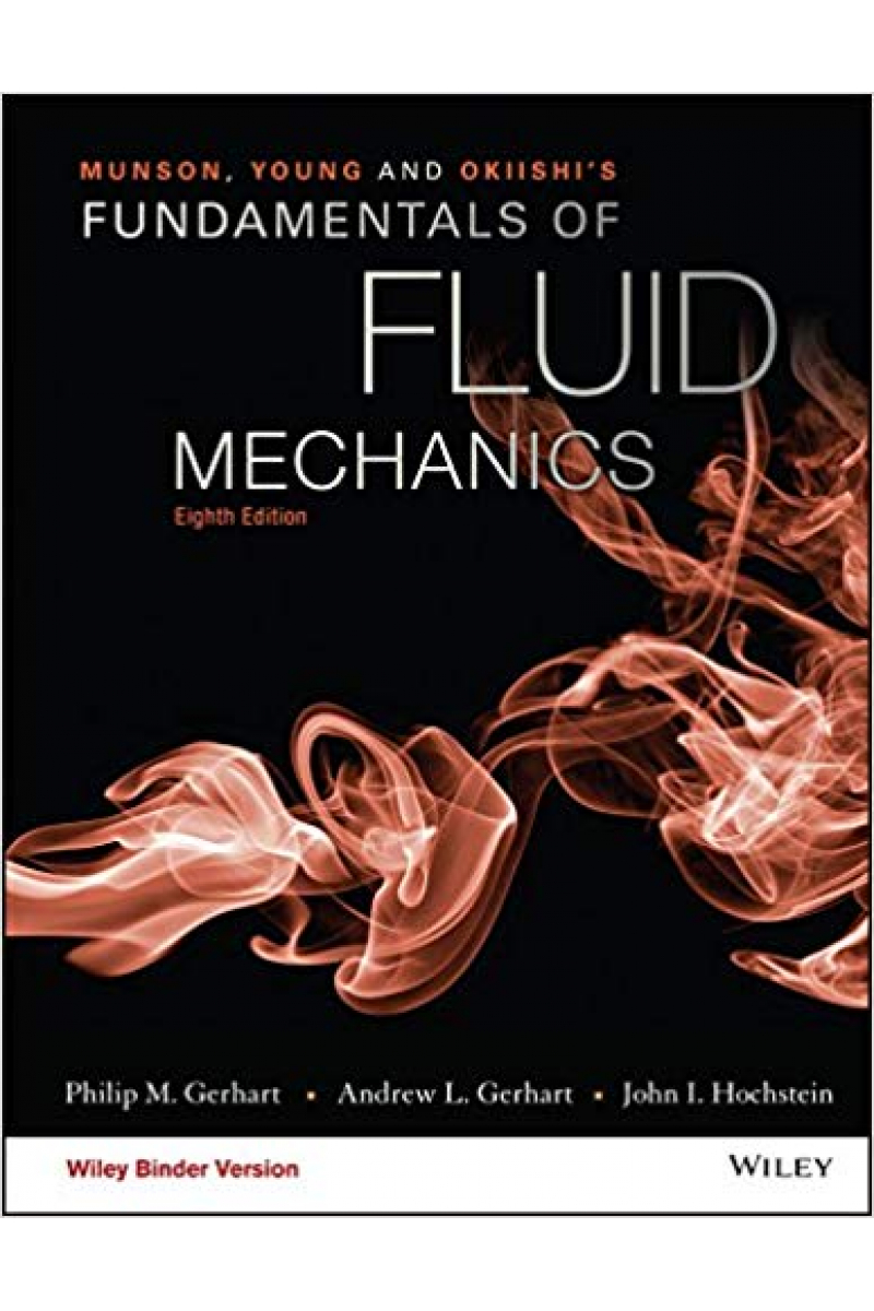 fundamentals of fluid mechanics 8th (bruce r. munson)