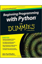 beginning programming with python for dummies (john paul mueller)