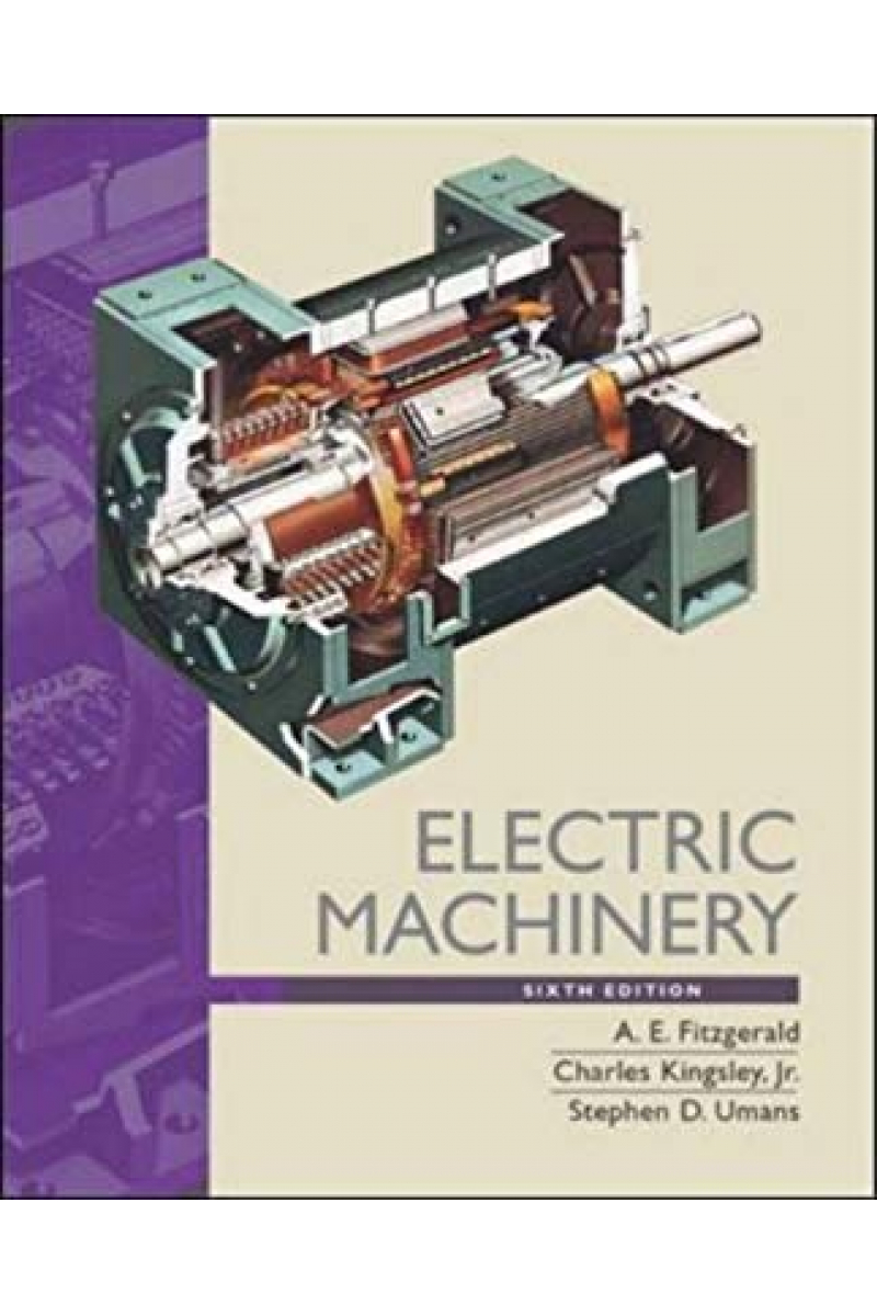 electric machinery 6th (fitzgerald)