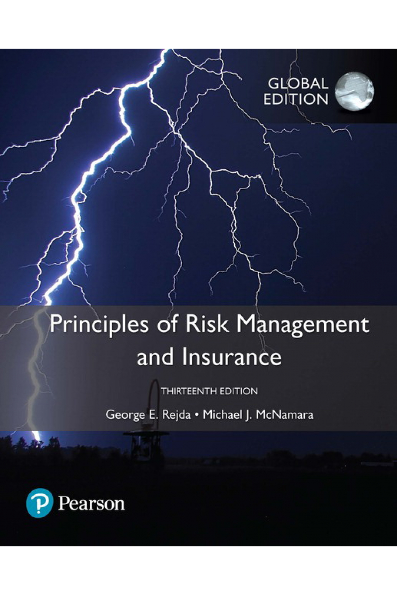 principles of risk management and insurance 13th (george e. rejda)