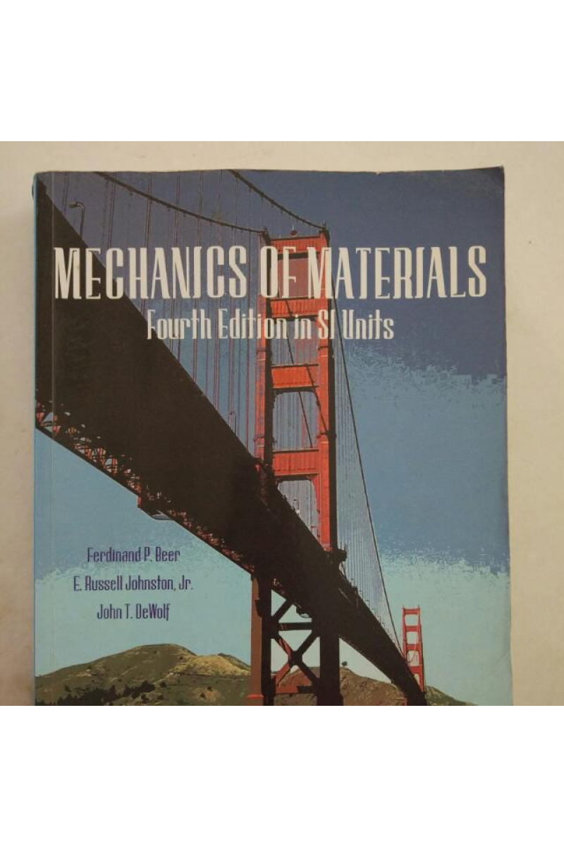 mechanics of materials 4th SI (beer, johnston)