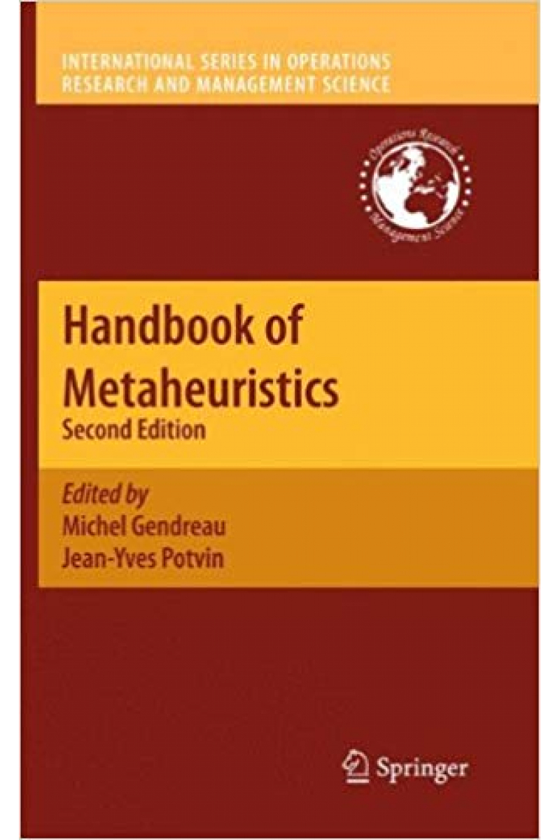handbook of metaheuristics 2nd (gendreau, potvin)