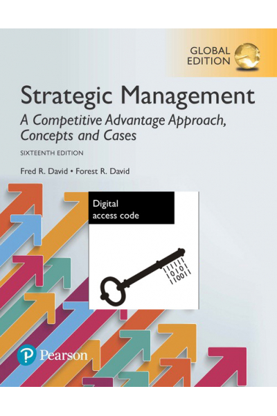 strategic management concepts and cases 16th (fred r. david)