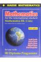 mathematics for the international student 3rd (haese)