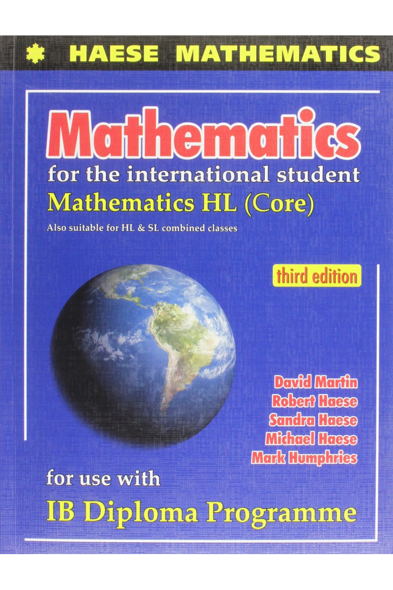 mathematics for the international student 3rd (haese)