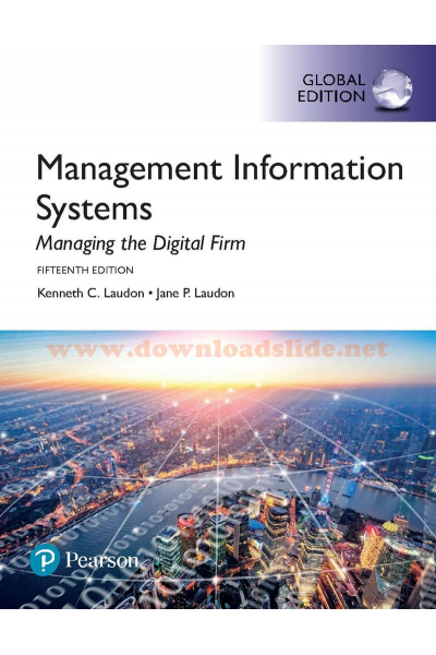 management information systems 15th (laudon, laudon)