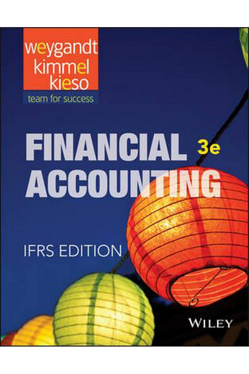 financial accounting IFRS edition 3rd (jerry j. Weygandt)