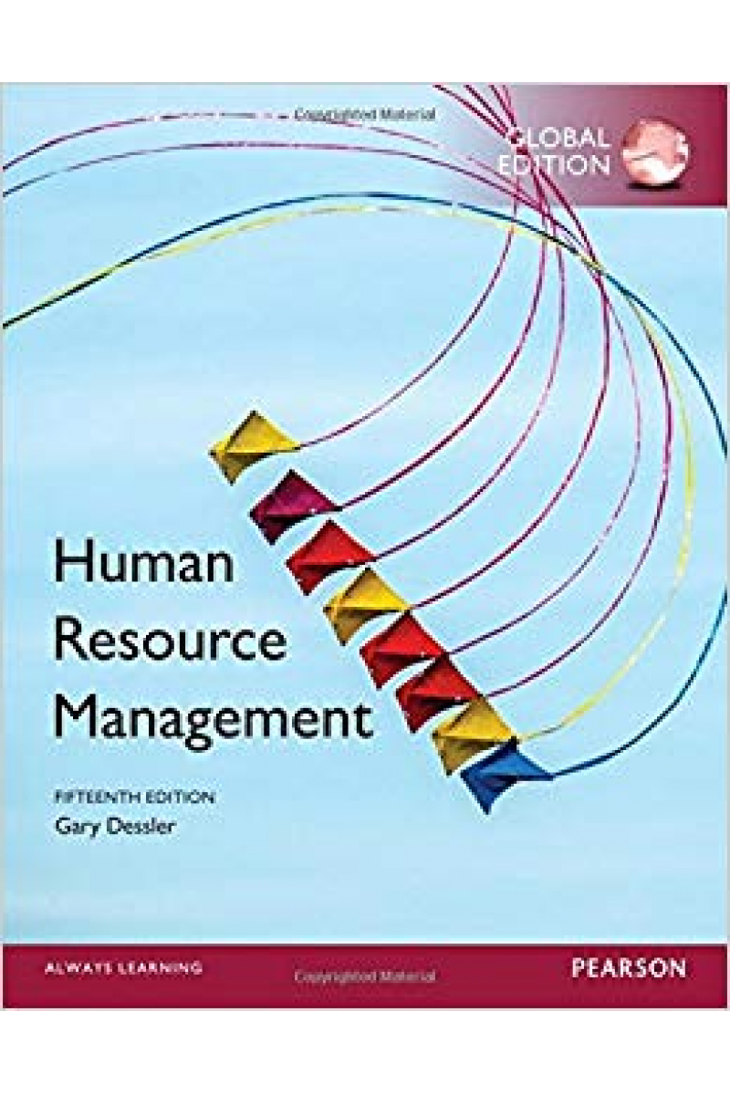 human resource management 15th (gary dessler)