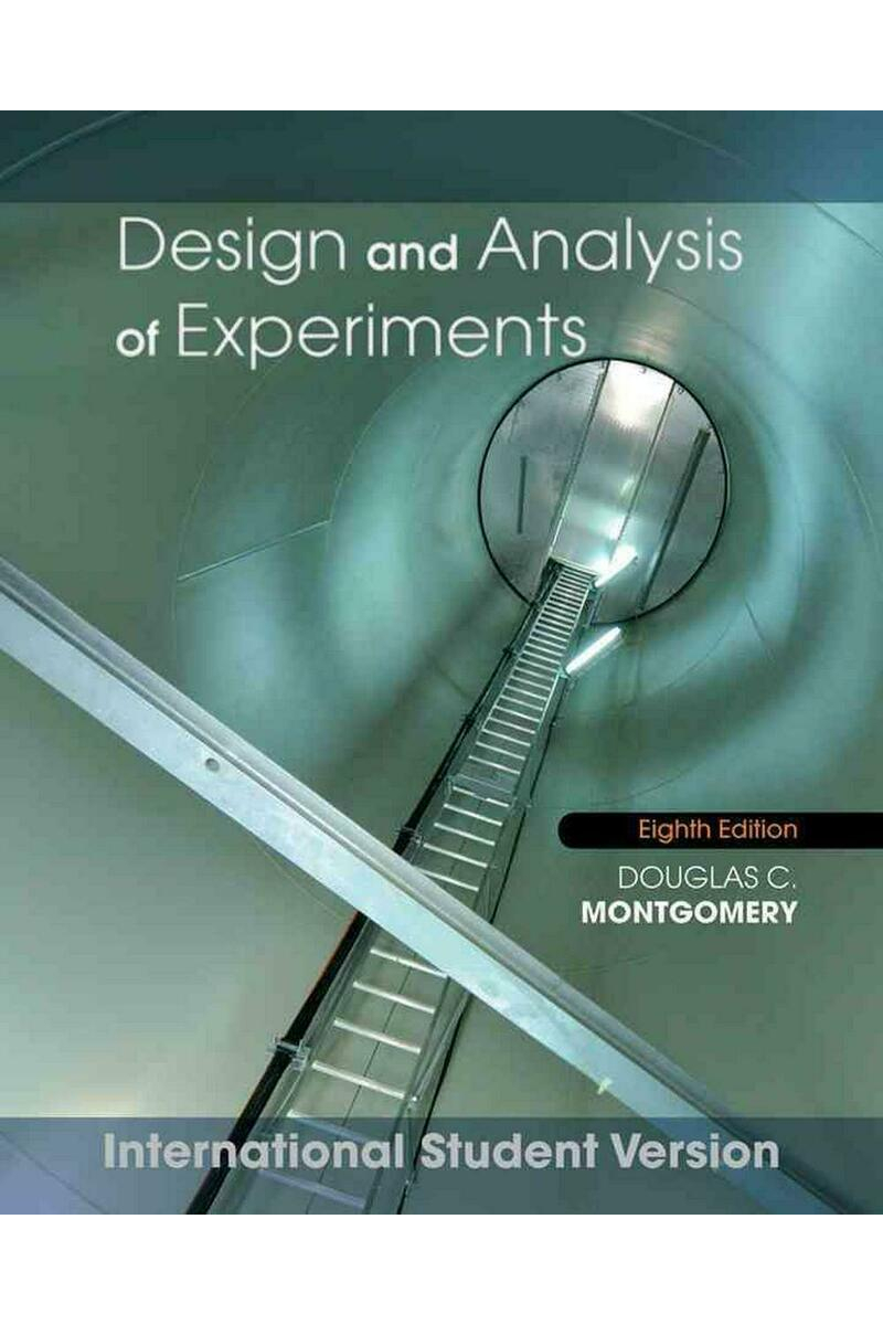 design and analysis of experiments 8th (douglas c. montgomery)