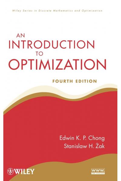 an introduction to optimization 4th (edwin k.p. Chong)