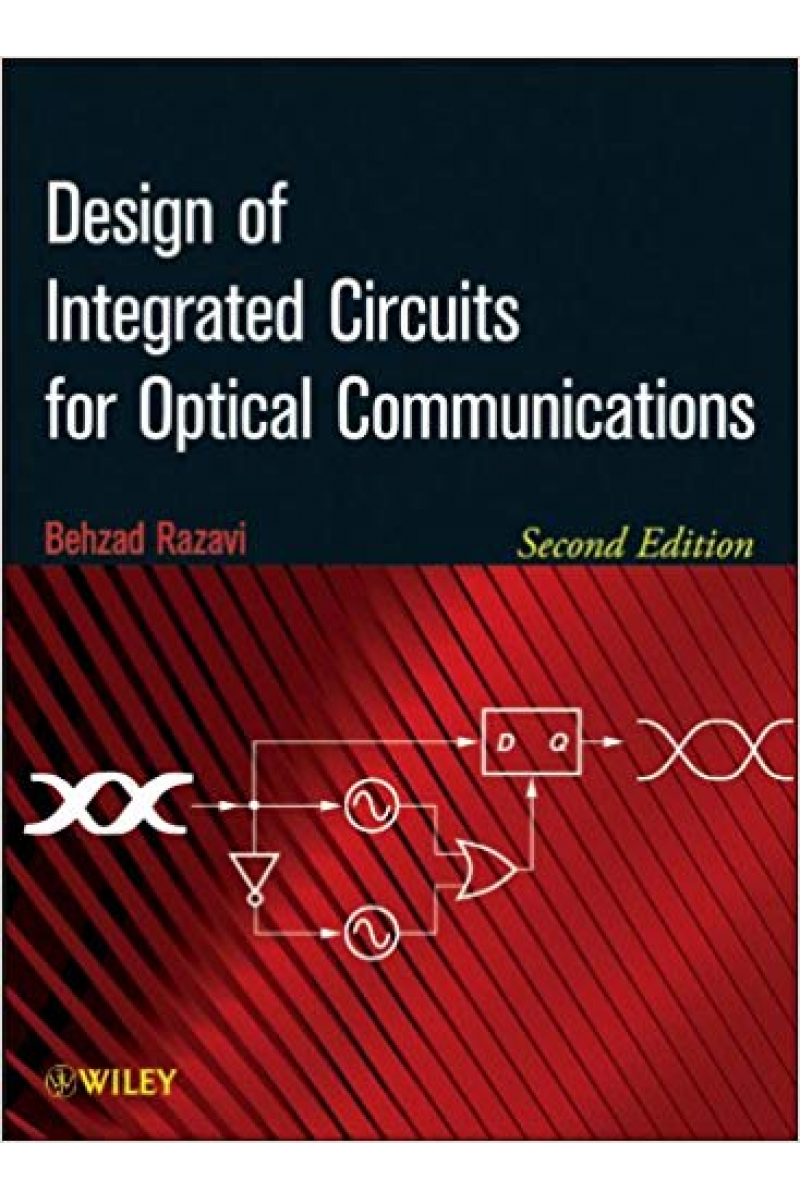design of integrated circuits for optical communications 2nd (razavi)