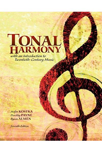 tonal harmony 7th (kostka, payne, almen)